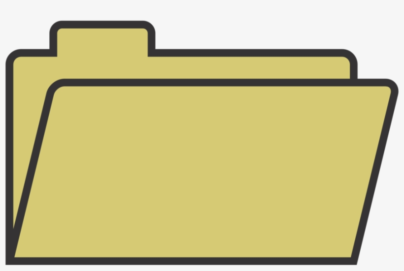 Clipart Download Cute Folder Clipart - File Folder Clipart, transparent png #140216