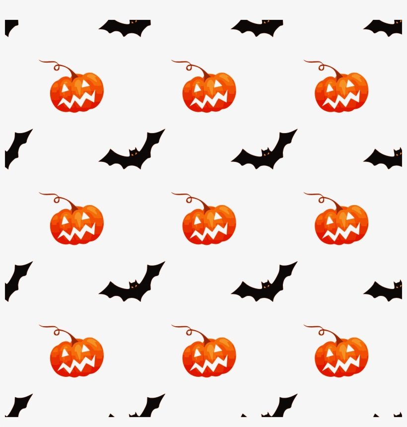 Download Mirage Pet Products 66 13 04 Lgyw Happy Halloween - Halloween Spooky Bats White Snap Bib, transparent png #140517