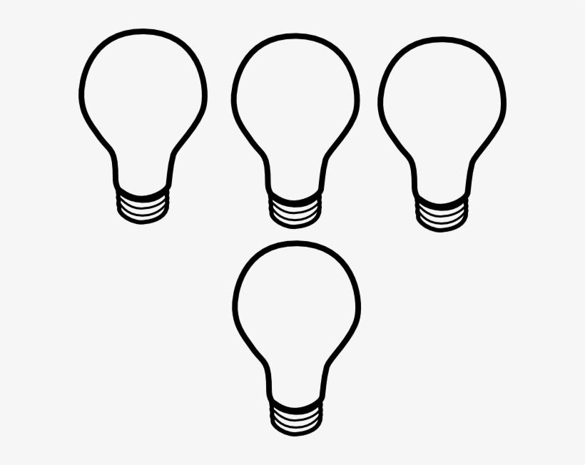Light Bulb Clipart Small - Small Light Bulb Clip Art, transparent png #141358