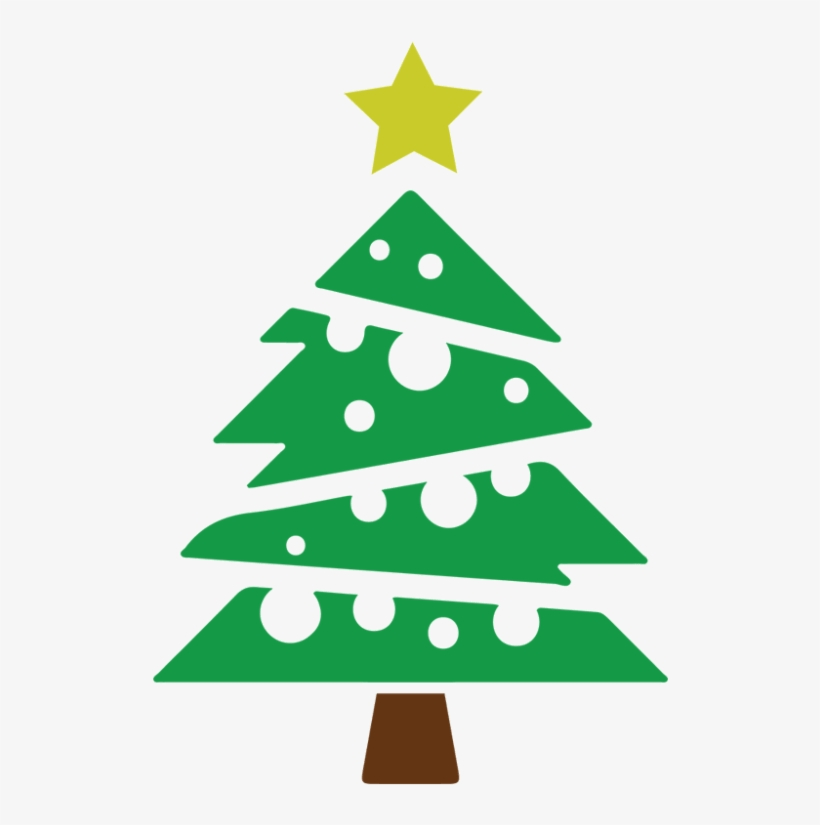 Christmas Tree Vector Icon - Abstract Christmas Tree Vector Png, transparent png #141577