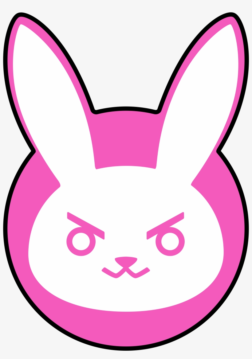 I Love This D - Overwatch Dva Icon - Free Transparent PNG