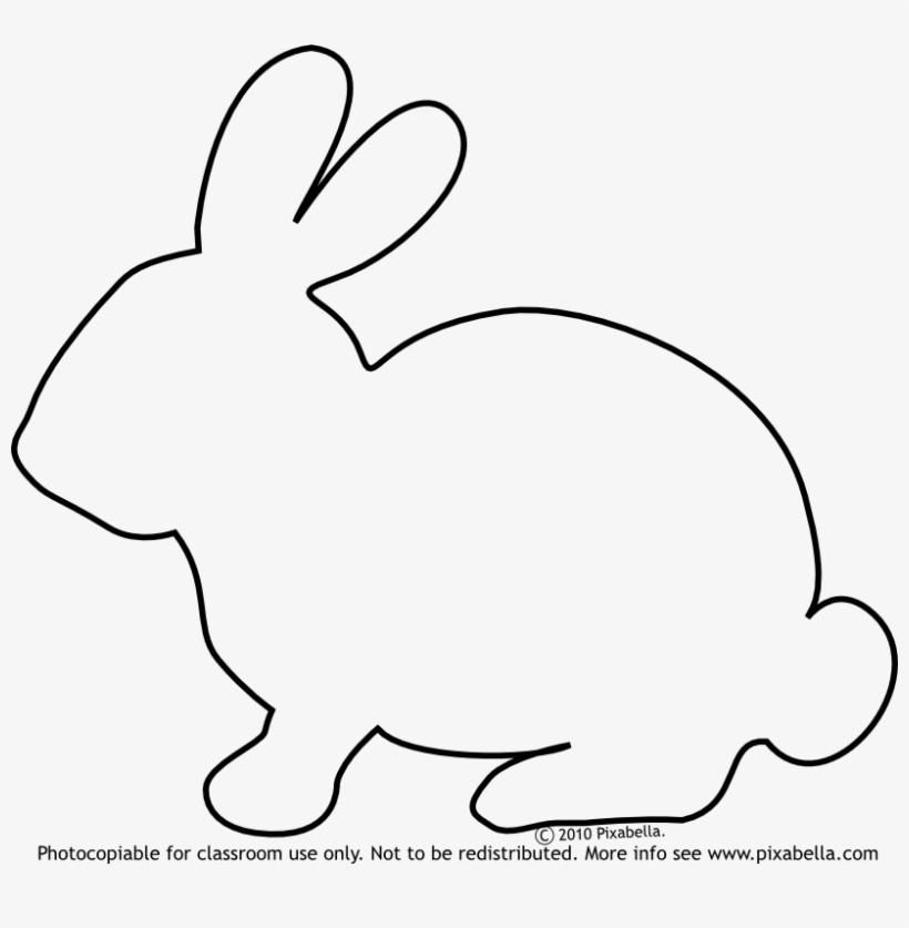 Http Www Pixabella Com Wp Rabbit Molde De Coelho Para