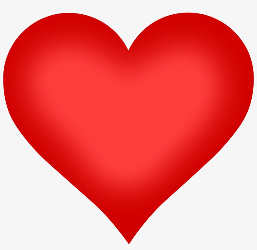 Heart Shape Png Image - Heart For Valentines Day, transparent png #143423