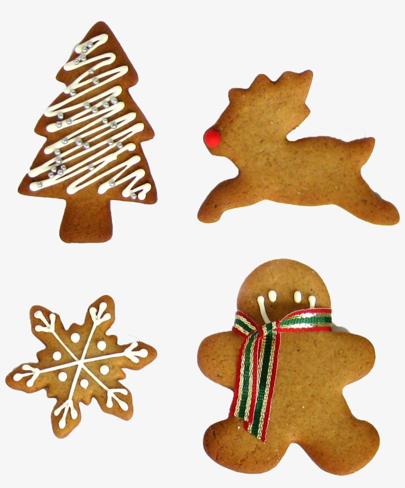 Christmas Cookies By Yardbunny On Deviantart Clip Free - Christmas Cookies Png, transparent png #144076