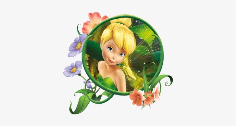Png Tinkerbell - Topo De Bolo Da Sininho, transparent png #144365