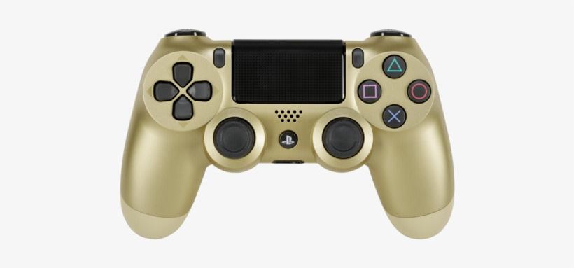 Joypad Sony Dualshock 4 Wireless Controller Gold V2 - Dualshock 4 Wireless Controller For Playstation 4 Gold, transparent png #144679