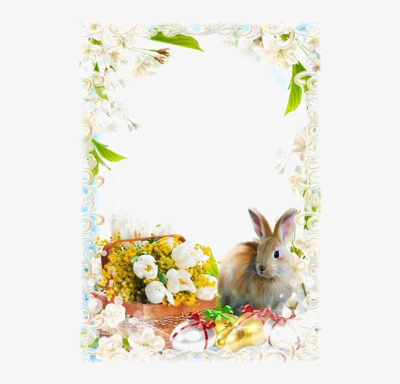 Easter Frames Transparent Image - Easter Frame Png, transparent png #144801
