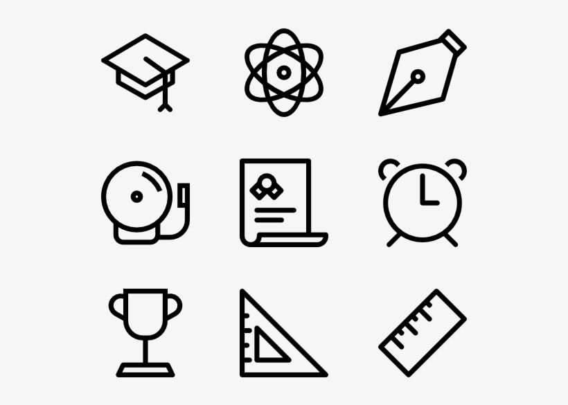 School Icons - Medieval Icons, transparent png #145607