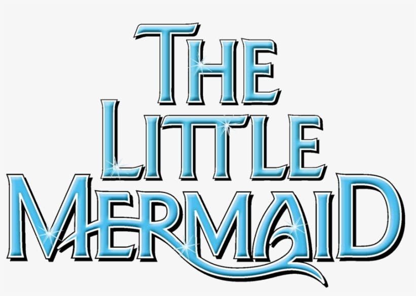 Little Mermaid Logo Clipart - Disney's The Little Mermaid (2008 Original Broadway, transparent png #146543