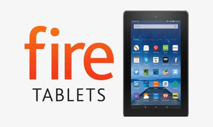 Amazon Fire Hd 8 Tablet - Amazon Kindle Fire Hd 8 2016, transparent png #146847
