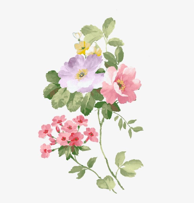 Dibujos Primavera Png - Pintura Flores Png, transparent png #147097