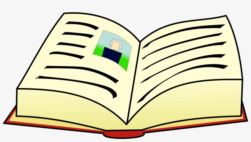 Book Vector Freeuse Download - Open Book Clip Art Hd, transparent png #147160