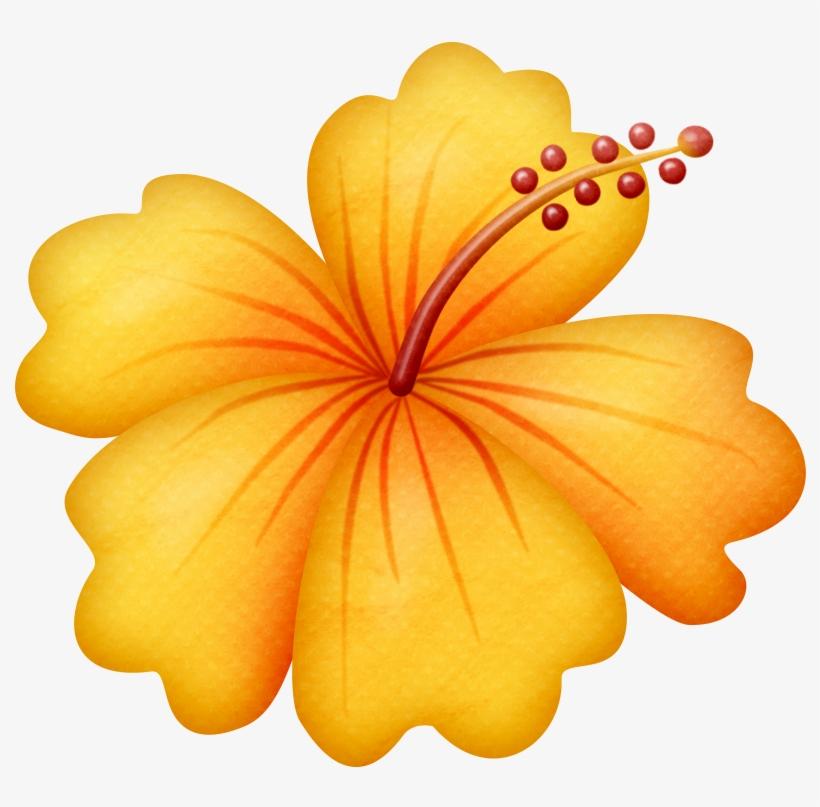 Flores Animadas Infantiles Con Hawaii Flowers Clipart Free