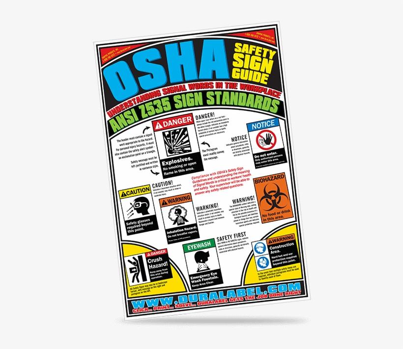 Safety Poster Osha Sign & Label Standards - Nail Salon, transparent png #148024