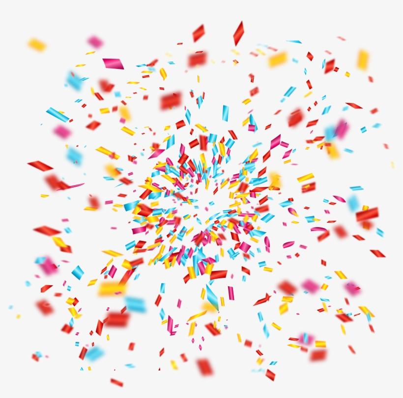 Celebration Confetti Png - Celebration Png, transparent png #148784