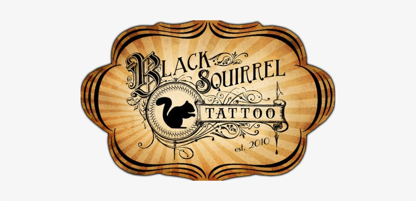 Black Squirrel Tattoo Black Squirrel Tattoo - Black Squirrel Tattoo, transparent png #149390