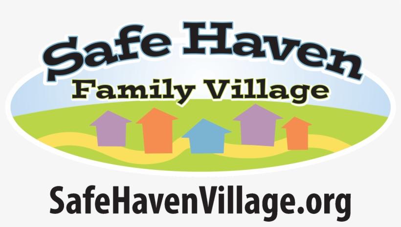 "Safe Haven Village Logo - Spelunking-06-a Square Sticker 3"" X 3"", transparent png #1401569"
