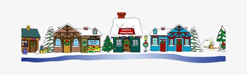 Village Clipart Free 19 Clipart Village Huge Freebie - Christmas Village Clip Art, transparent png #1401889