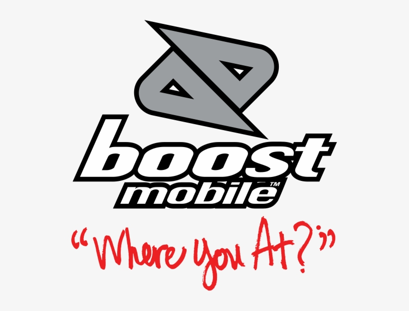 Boost Mobile Mere You At Png Logo - Boost Mobile Where You, transparent png #1403115
