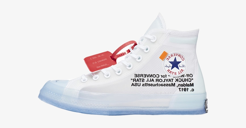 Be Sure To Let Us Know Your Thoughts On This Release - All Star Off White, transparent png #1403192