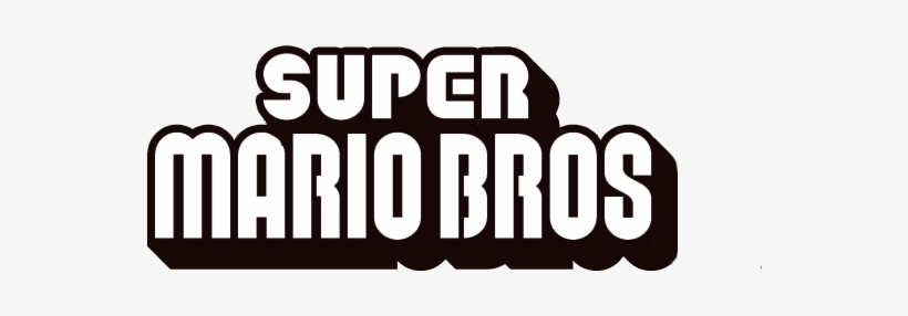 Super Mario Logo2 New Super Mario Bros Free Transparent Png