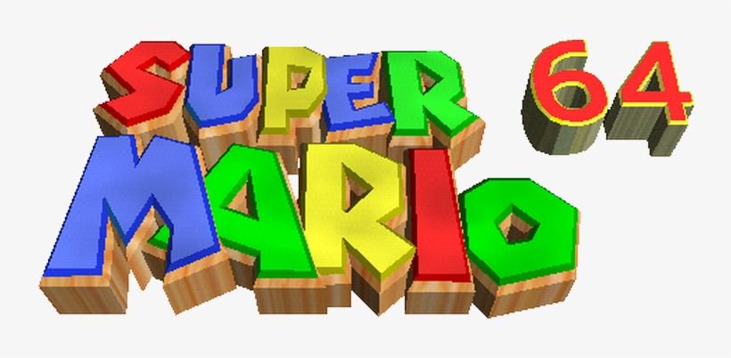 Super Mario 64 Logo Png, transparent png #1403747