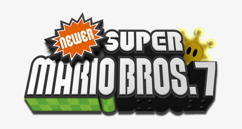Logo Made By - Newer Super Mario Bros Wii Deluxe, transparent png #1403874