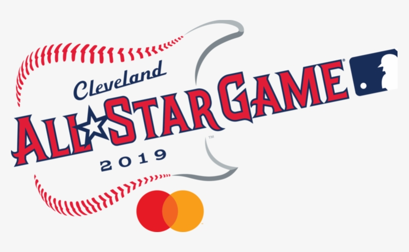 The 2019 Major League Baseball All-star Game Logo - 2019 Mlb All Star Game Cleveland, transparent png #1404537