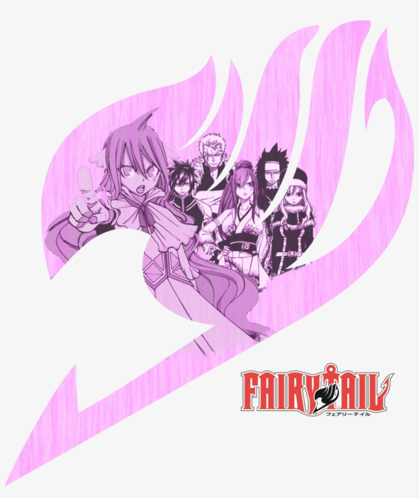 Erzascarletxx Images Fairy Tail Logo Mavis By Nighthackstar - Fairy Tail Logo Mavis, transparent png #1406528