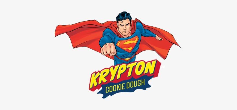 Superman Krypton Cookie Dough Ice Cream - Imagenes De Superman, transparent png #1407742