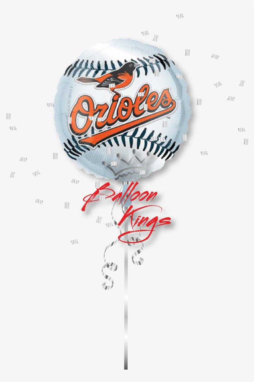 """Baltimore Orioles Ball - 18"""" Baltimore Orioles Foil Balloon (5 Each), transparent png #1410753"""