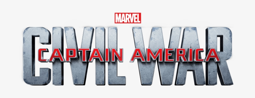 Civil War Logo Comments - Logo Captain America Civil War, transparent png #1411414