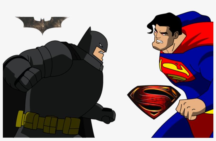 Como Dibujar Batman Vs Superman Clipart Batman V Superman - Batman Vs Superman Para Dibujar, transparent png #1411561