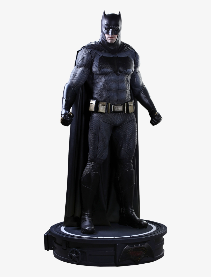 Hot Toys Batman Life-size Figure - Batman V Superman Life Size Statue, transparent png #1411929