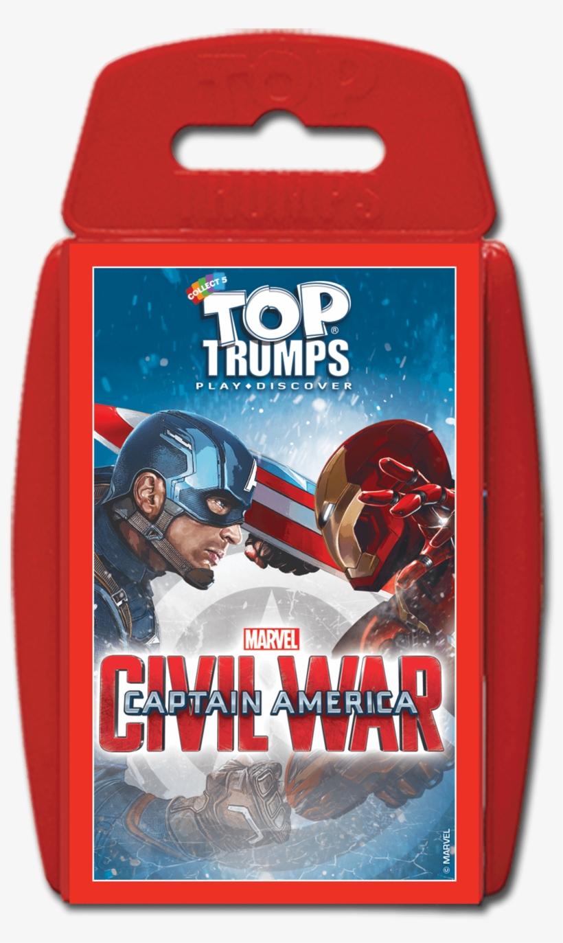 Captain America Civil War Top Trumps - Captain America: Civil War Top Trumps, transparent png #1412102