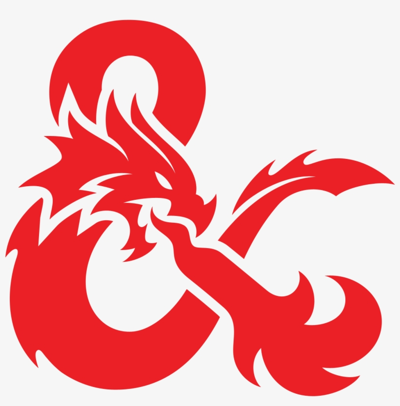 D&d Logo Png - Dungeons And Dragons Icon, transparent png #1413410
