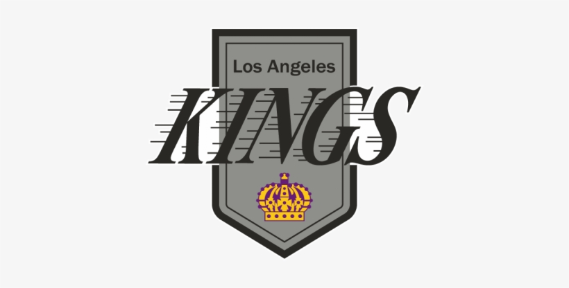 Los Angeles Kings Logo, 1987-1988 - Los Angeles Kings 1988 Logo, transparent png #1413503