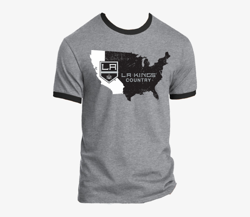 Los Angeles Kings Nationwide - Los Angeles Kings T Shirt, transparent png #1413767