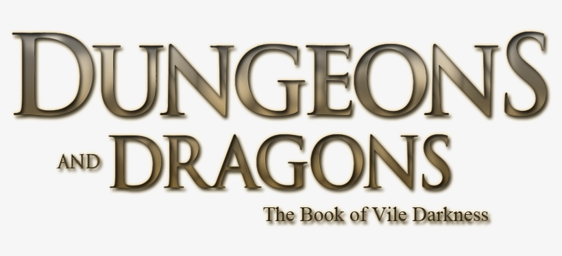 Dungeons & Dragons - Dungeons & Dragons: The Book Of Vile Darkness, transparent png #1414569