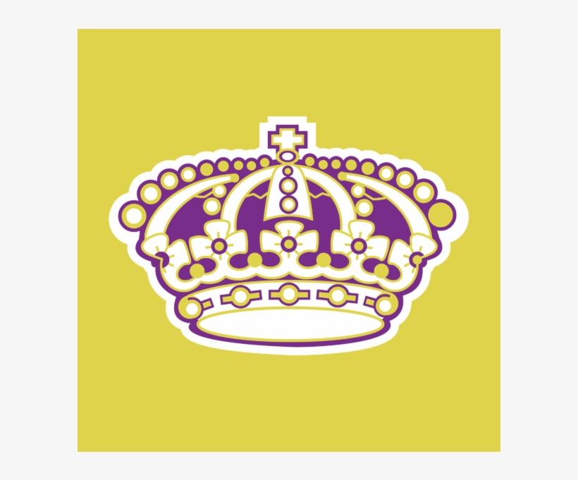 Los Angeles Kings Old Logo, transparent png #1414570