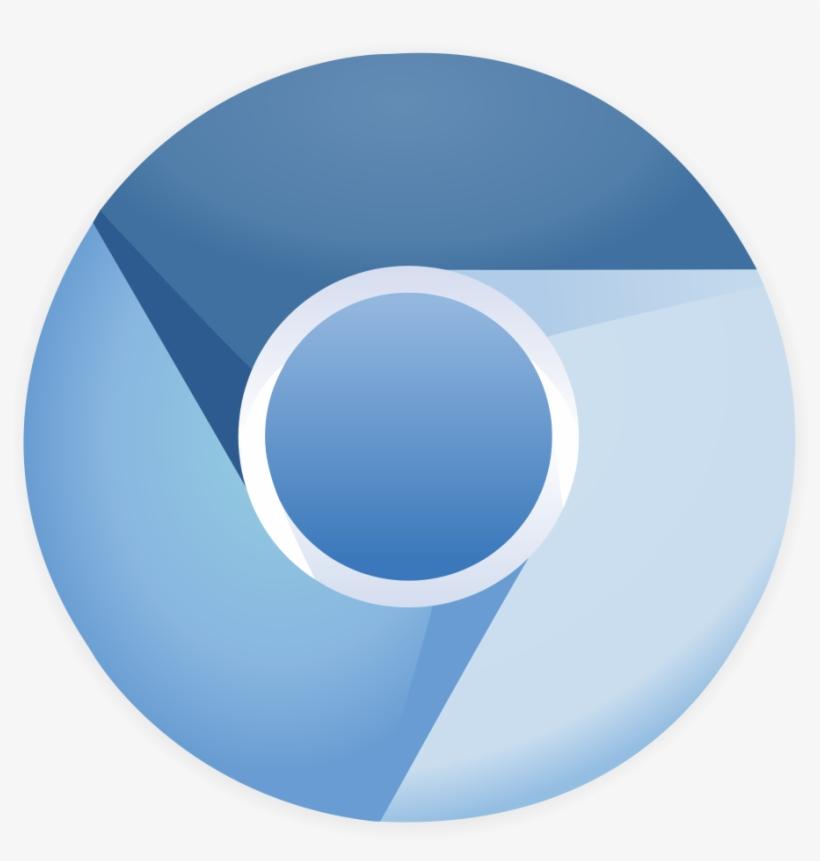 Chromium 11 Logo - Google Chrome Logo Blue, transparent png #1414787