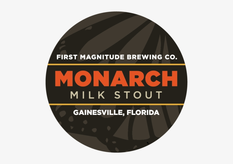 Monarch Milk Stout Tap Logo-corrected - Beer, transparent png #1415203