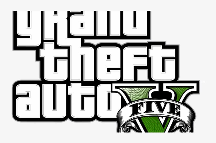 Gta V Logo Huge Transback - Grand Theft Auto V [ps3 Game], transparent png #1415885