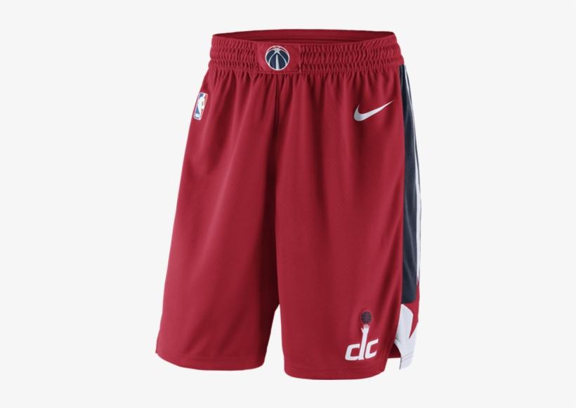 Washington Wizards Nike Icon Edition Swingman Nba Shorts - Washington Wizards Shorts, transparent png #1417207