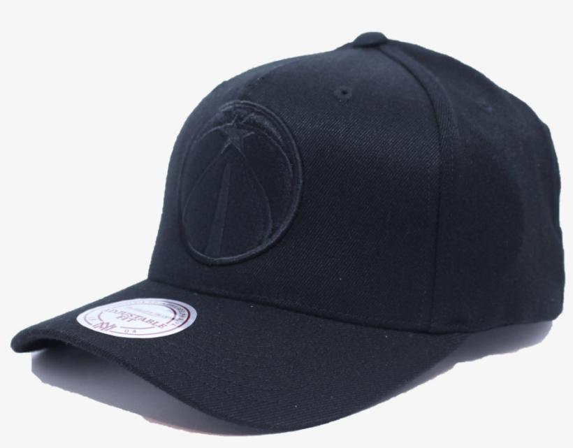 Washington Wizards Mitchell & Ness Nba Blackout Flexfit - New Era Yankees Black 39thirty, transparent png #1417227