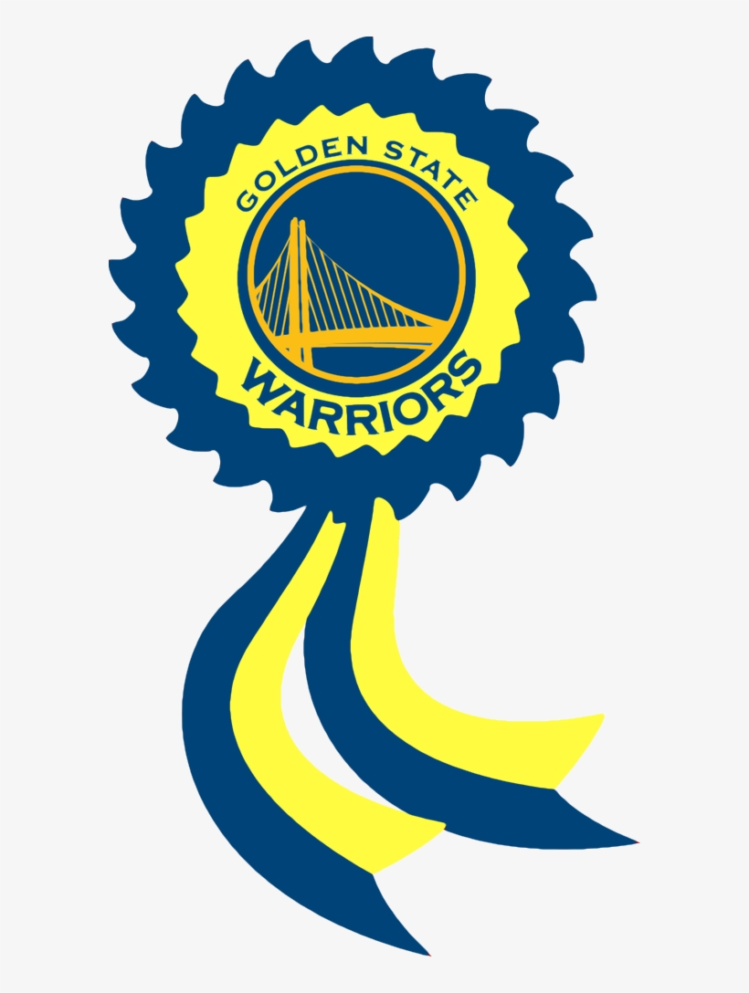 Golden State Warriors By Britannialoyalist - Golden State Warriors Decals 5ct Birthday Party Supplies, transparent png #1419038