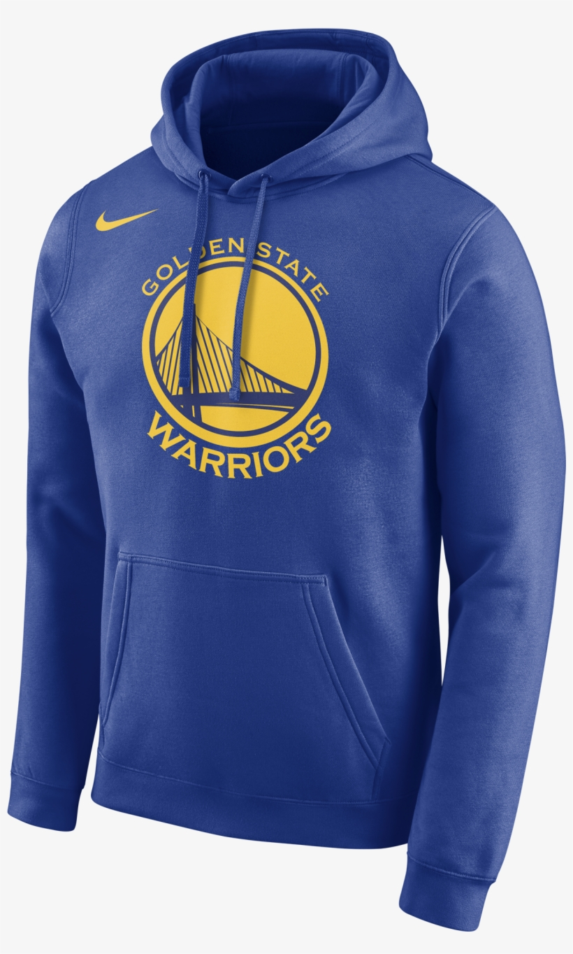 Nike Nba Golden State Warriors Logo Hoodie - Nike Golden State Warriors Hoodie, transparent png #1419084