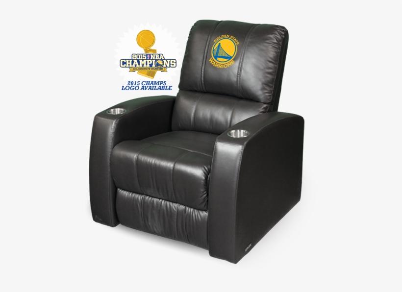 Golden State Recliner Ht Psnba30080 - Golden State Warriors Chair, transparent png #1419281
