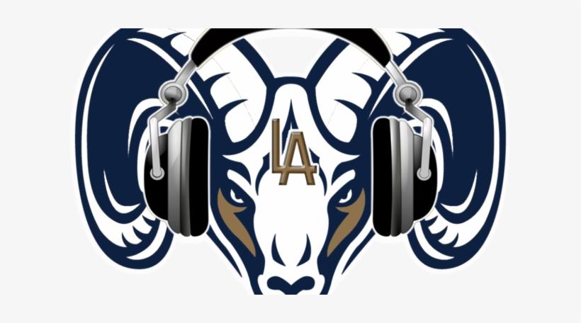 Los Angeles Rams Podcast - Ram Logo, transparent png #1419464