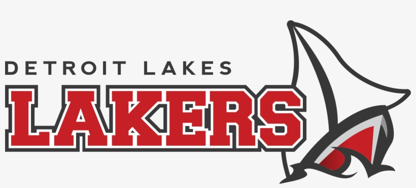 Detroit Lakes Lakers Logo, transparent png #1419732